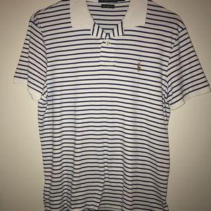Men's Striped Ralph Lauren Polo